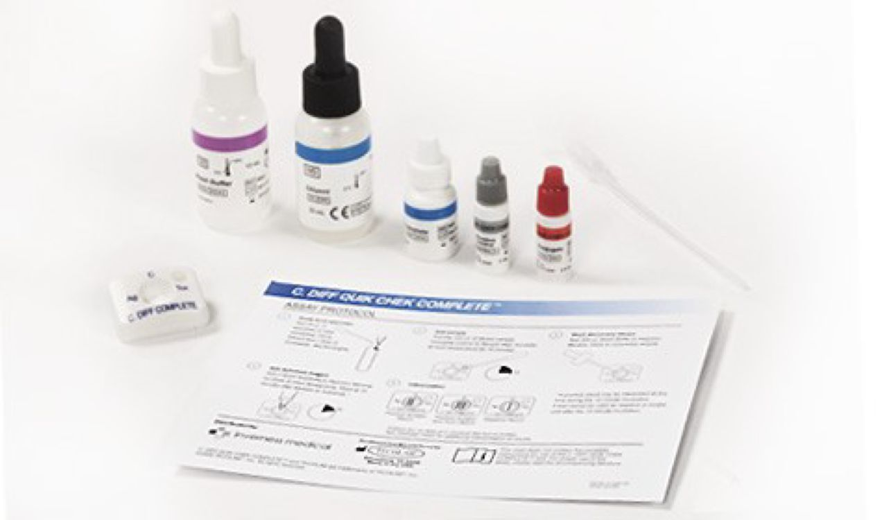 Alere - C. Diff. Quik ChekSEROLOGY KITProduct Page