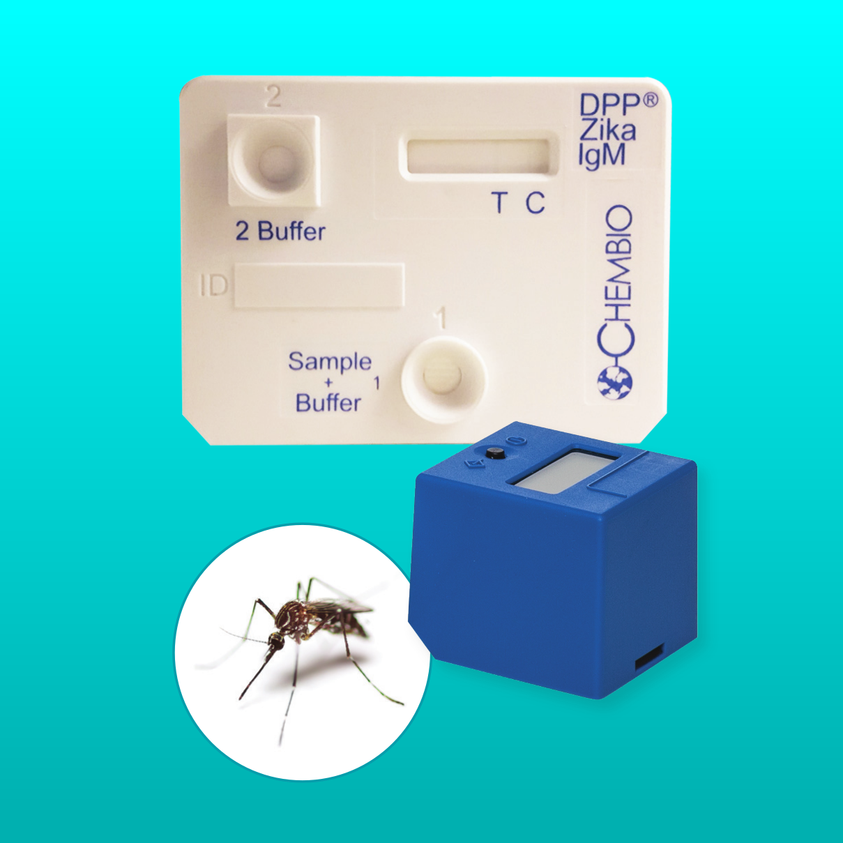 Chembio - DPP Zika IgM Assay SystemDETECTS ZIKA ANTIBODIES AS EARLY AS DAY 8Product Page | Health Care Professional Fact Sheet | Patient Fact Sheet | Patient Fact Sheet (Español) | PDF | More