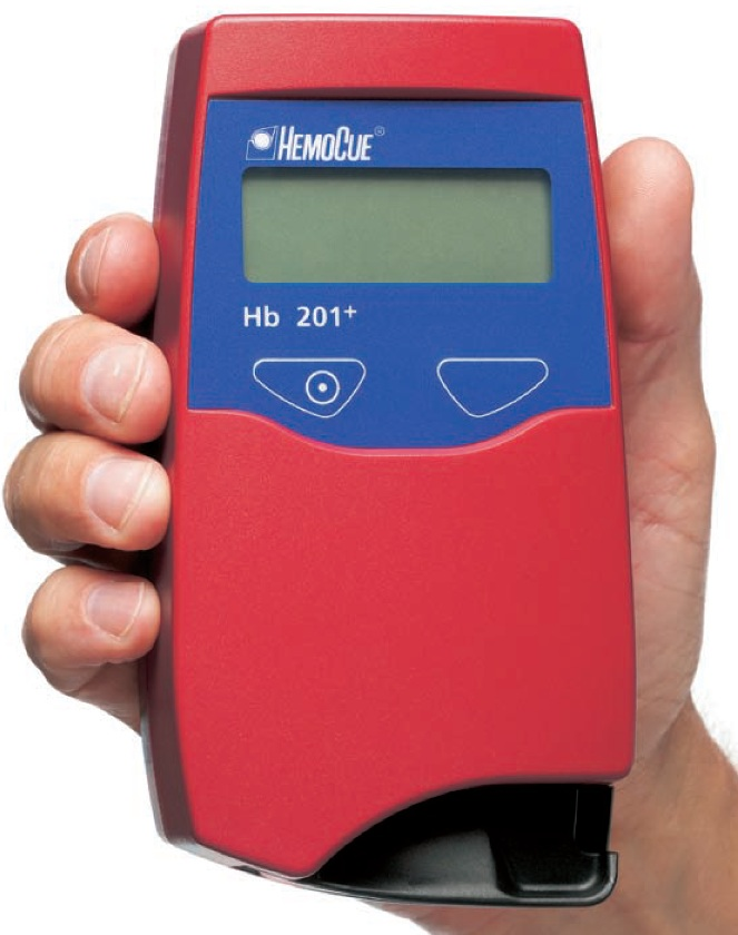 Hemocue Hb 201SEMI-AUTOMATED SYSTEMHEMOGLOBIN TESTING SYSTEMProduct Page