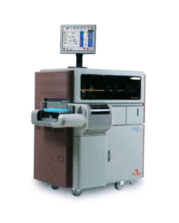 Stago - EvolutionAUTOMATED COAGULATION SYSTEMHIGH VOLUME AUTOMATED COAGULATION ANALYZERProduct Page | PDF | More