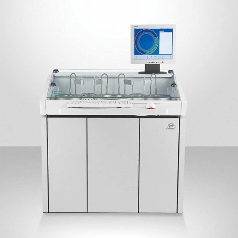 Siemens - Viva TwinAUTOMATED TDM's, DAT's SYSTEMAUTOMATED SPECIAL CHEMISTRY ANALYZERProduct Page | PDF | More
